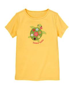 Island Cutie Turtle Tee