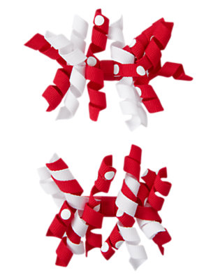 Ladybug Red Polka Dot Hair Curlies Two-Pack by Gymboree