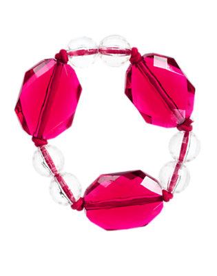 Deep Red Gem Bauble Bracelet by Gymboree