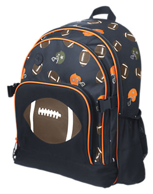 Black Football Backpack by Gymboree