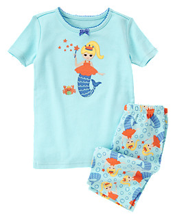 Mermaid Shortie Two-Piece Gymmies®