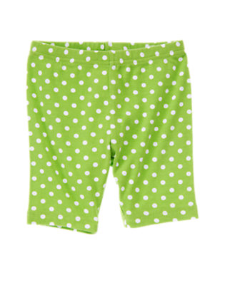 Girls Kiwi Dot Polka Dot Bike Short by Gymboree
