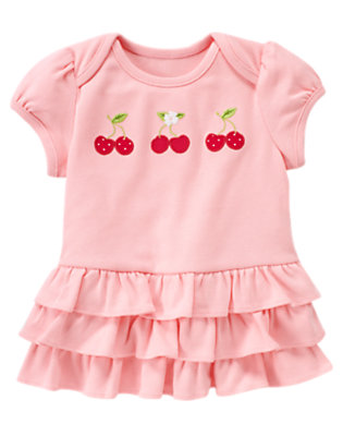 Blossom Pink Cherry Ruffle Tunic by Gymboree