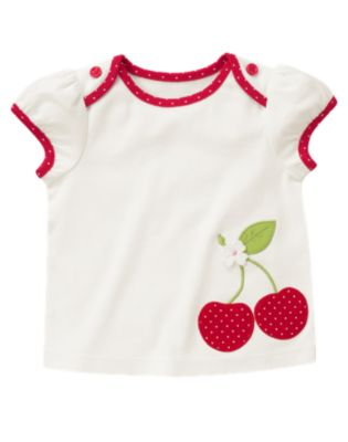 Baby Girl 2012 Fall Transition Cherry Line & Birthday Shop
