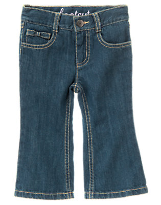 Uni Denim Bow Jean by Gymboree
