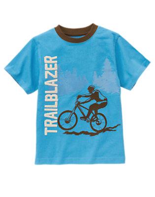 Trailblazer Blue Trailblazer Tee by Gymboree