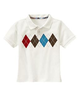 Argyle Pique Polo Shirt