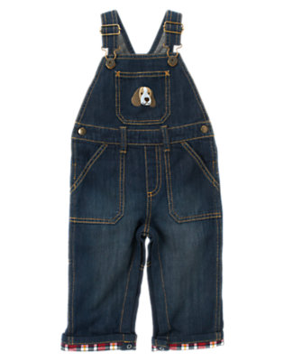 Denim Puppy Denim Overall by Gymboree