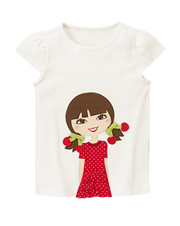 Cherry Cute Girl Tee