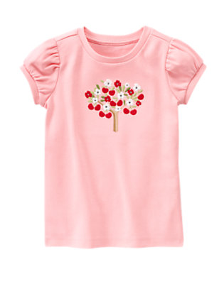 Blossom Pink Gem Cherry Tree Tee by Gymboree