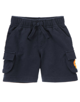 Navy Lion Cargo Short by Gymboree