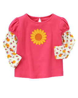 Sunflower Double Sleeve Tee