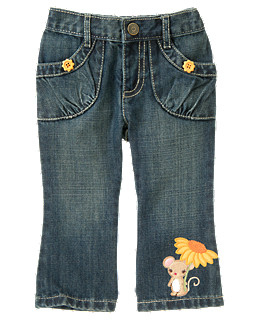 Sunflower Mouse Jean