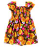 Sunflower Smocked Poplin Dress