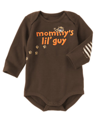 Raccoon Brown Mommy's Lil' Guy Bodysuit by Gymboree