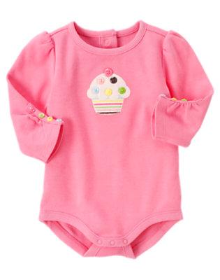Cupcake Pink Cupcake Bodysuit by Gymboree