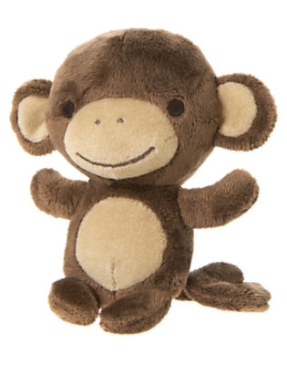 Monkey Brown Monkey Plush Toy by Gymboree