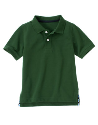 Green Pine Uniform Polo Shirt by Gymboree