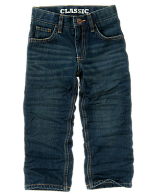 Uni Medium Wash Denim Classic Jean by Gymboree
