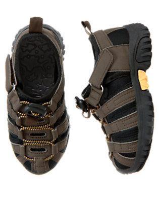 Chocolate Brown Trail Sneaker by Gymboree