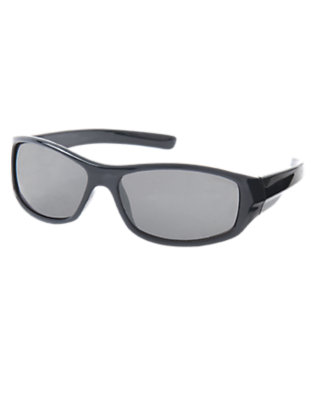 Boys Gym Navy Rectangular Sunglasses by Gymboree