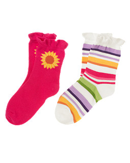Sunflower Stripe Sock Two-Pack