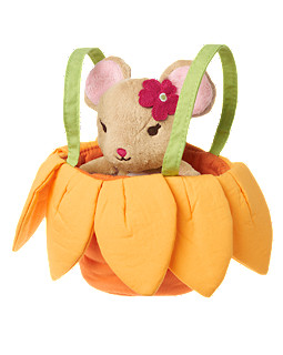 Plush Mouse Carrier Bag