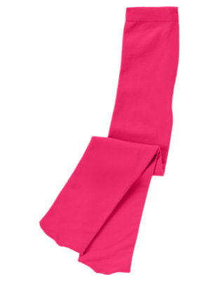 Toddler Girls Fuchsia Pink Tight by Gymboree