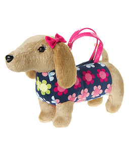 Dog Plush Purse