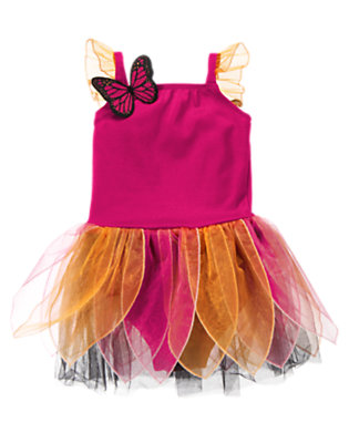 Fuchsia Pink Baby Bright Butterfly Costume by Gymboree
