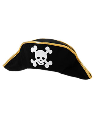 Black Ahoy Pirate Hat by Gymboree