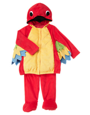 Jungle Red Baby Parrot Costume by Gymboree