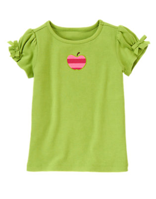 Green Apple Apple Tee by Gymboree