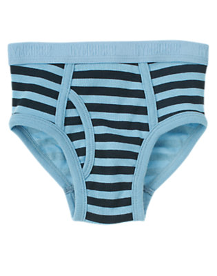 Boys Blue Skies Stripes Stripe Brief by Gymboree