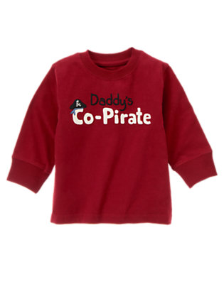 Flag Red Daddy's Co-Pirate by Gymboree