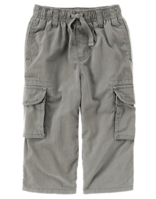 True Grey Lined Cargo Active Pant by Gymboree