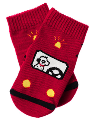 Firetruck Red Firetruck Sock by Gymboree