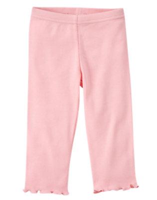 Toddler Girls Sweet Pink Legging by Gymboree