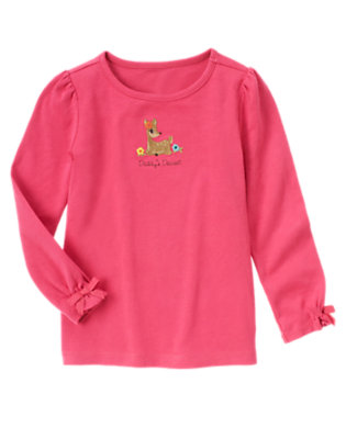 Autumn Pink Daddy's Dearest Tee by Gymboree