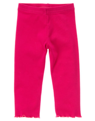 Toddler Girls Chic Pink Legging by Gymboree