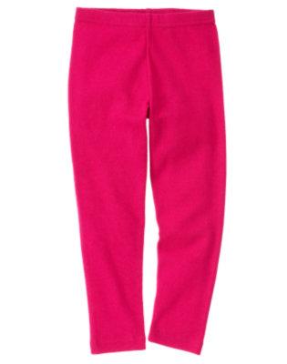Girls Chic Pink Legging by Gymboree