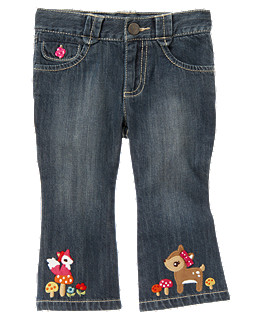 Fox And Deer Jean