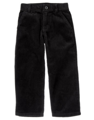 Black Dressy Corduroy Pant by Gymboree