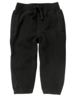 Black Fleece Active Pant by Gymboree