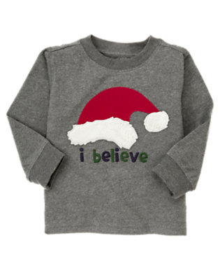 Misty Heather I Believe Holiday Tee by Gymboree