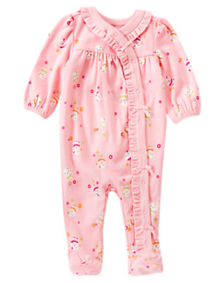 Kitty Kitty Footed One-Piece by Gymboree