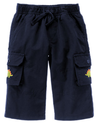 Dino Navy Dino Lined Active Pant by Gymboree