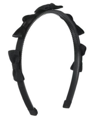 Black Mini Bow Headband by Gymboree