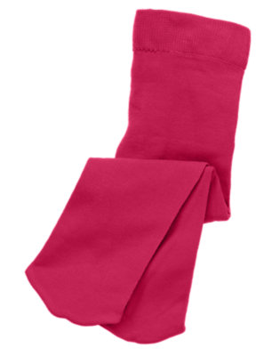 Toddler Girls Raspberry Pink Tight by Gymboree