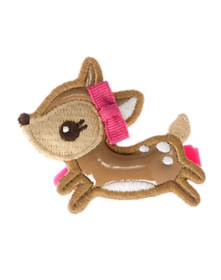 Toddler Girls Fawn Brown Deer Hair Clip by Gymboree